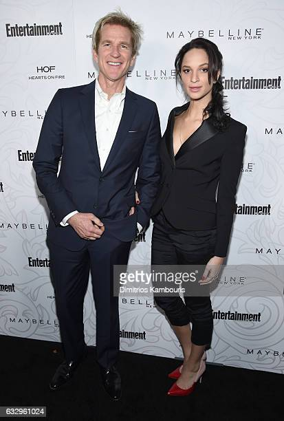 Actors Matthew Modine and Ruby Modine attend the Entertainment Weekly Celebration of SAG Award Nominees sponsored by Maybelline New York at Chateau...