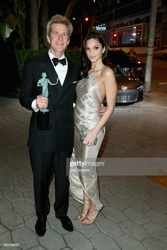 Actors Matthew Modine (L) and Ruby Modine attend The Weinstein Company & Netflix's SAG 2017 After Party presented by Audi at Sunset Tower Hotel on January 29, 2017 in West Hollywood, California.