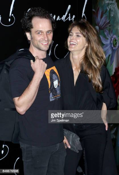 Actors Matthew Rhys and Keri Russell attend the 'mother' New York premiere at Radio City Music Hall on September 13 2017 in New York City