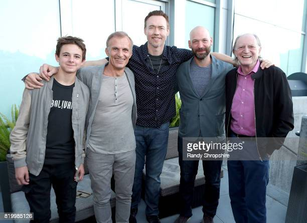 Actors Max Charles Richard Sammel Kevin Durand Corey Stoll and David Bradley attend the Entertainment Weekly and FX After Dark event at the EW Studio...