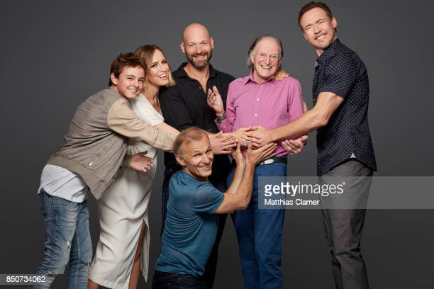 Actors Max Charles Ruta Gedmintas Corey Stoll Richard Sammel David Bradley and Kevin Durand from The Strain are photographed for Entertainment Weekly...