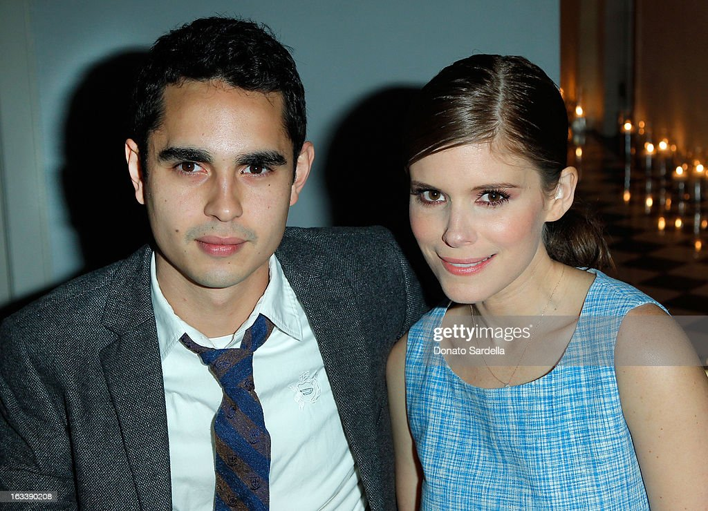 Actors <a gi-track='captionPersonalityLinkClicked' href=/galleries/search?phrase=Max+Minghella&family=editorial&specificpeople=777019 ng-click='$event.stopPropagation()'>Max Minghella</a> and <a gi-track='captionPersonalityLinkClicked' href=/galleries/search?phrase=Kate+Mara&family=editorial&specificpeople=544680 ng-click='$event.stopPropagation()'>Kate Mara</a> attend Joe Fresh private dinner hosted by Joe Mimran and <a gi-track='captionPersonalityLinkClicked' href=/galleries/search?phrase=Kate+Mara&family=editorial&specificpeople=544680 ng-click='$event.stopPropagation()'>Kate Mara</a> at The Chateau Marmont on March 8, 2013 in Los Angeles, California.