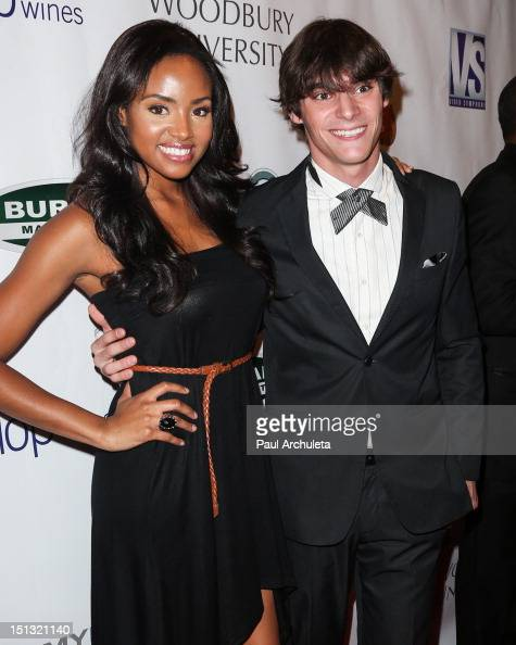 Actors Meagan Tandy and RJ...