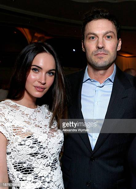 Actors Megan Fox and Brian Austin Green attend the 7th Annual March of Dimes Celebration of Babies a Hollywood Luncheon at the Beverly Hills Hotel on...