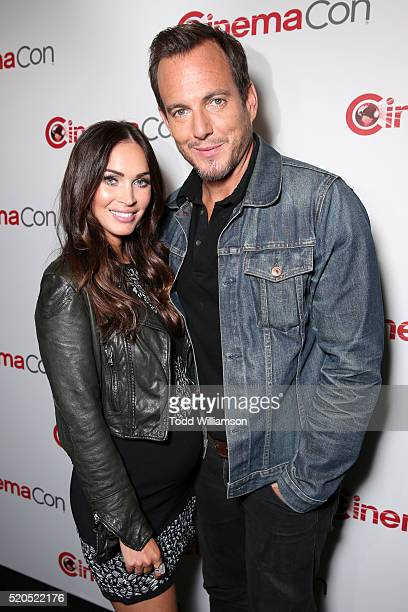 Actors Megan Fox and Will Arnett attend the CinemaCon 2016 Gala Opening Night Event Paramount Pictures Highlights its 2016 Summer and Beyond Films at...