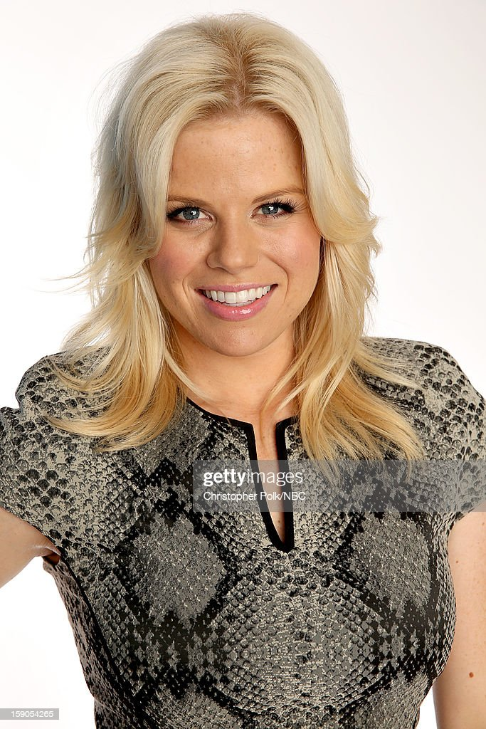 Actors Megan Hilty attends the NBCUniversal 2013 TCA Winter Press Tour at The Langham Huntington Hotel and Spa on January 6, 2013 in Pasadena, California.