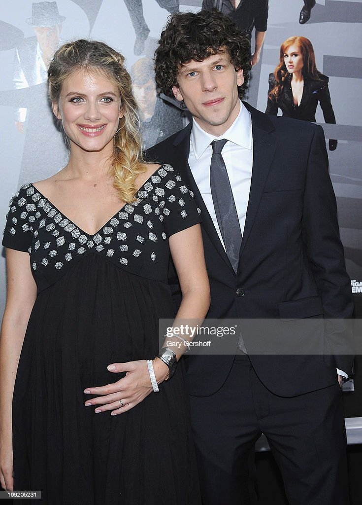 Actors <a gi-track='captionPersonalityLinkClicked' href=/galleries/search?phrase=Melanie+Laurent&family=editorial&specificpeople=2721978 ng-click='$event.stopPropagation()'>Melanie Laurent</a> (L) and <a gi-track='captionPersonalityLinkClicked' href=/galleries/search?phrase=Jesse+Eisenberg&family=editorial&specificpeople=625439 ng-click='$event.stopPropagation()'>Jesse Eisenberg</a> attend the 'Now You See Me' premiere at AMC Lincoln Square Theater on May 21, 2013 in New York City.