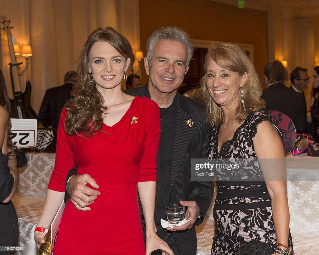 Actors Melissa Biethan, Tony Denison and TACA founder Lisa Ackerman attend the 7th Annual Ante Up For Autism Event At The St. Regis Monarch Beach Resort on October 12, 2013 in Dana Point, California.