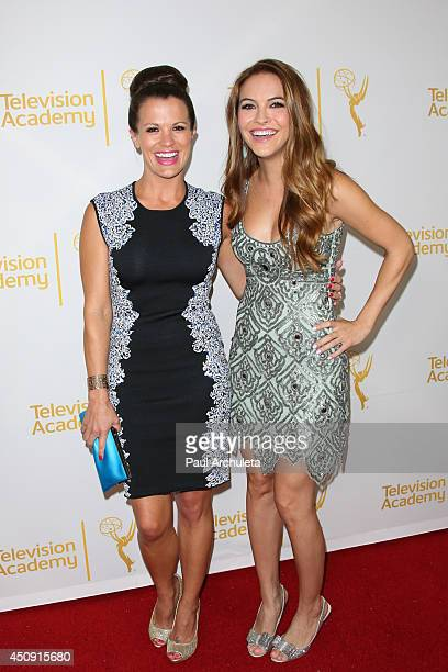 Actors Melissa Claire Egan and Chrishell Stause attend the Daytime Emmy Nominee Reception at The London West Hollywood on June 19 2014 in West...