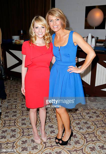Actors Melissa Rauch and Kathleen Rose Perkins attend the Variety Studio powered by Samsung Galaxy on May 28 2014 in West Hollywood California