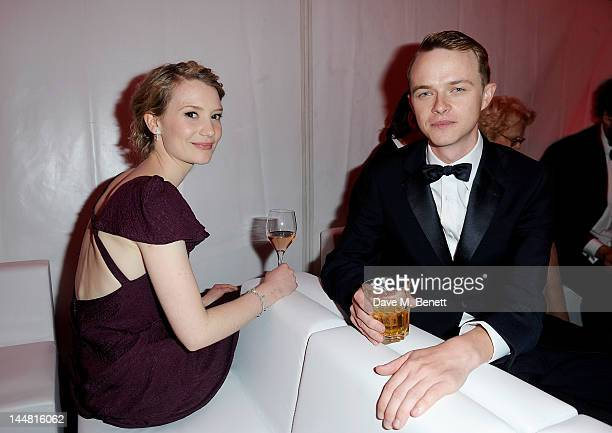 Actors Mia Wasikowska and Dane DeHaan attend the 'Lawless' after party hosted by Manuele Malenotti Johnnie Walker Blue Label and Chopard during the...