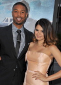 Actors Michael B Jordan and Melonie Diaz arrive at the premiere of The Weinstein Company's 'Fruitvale Station' during the 2013 Los Angeles Film...