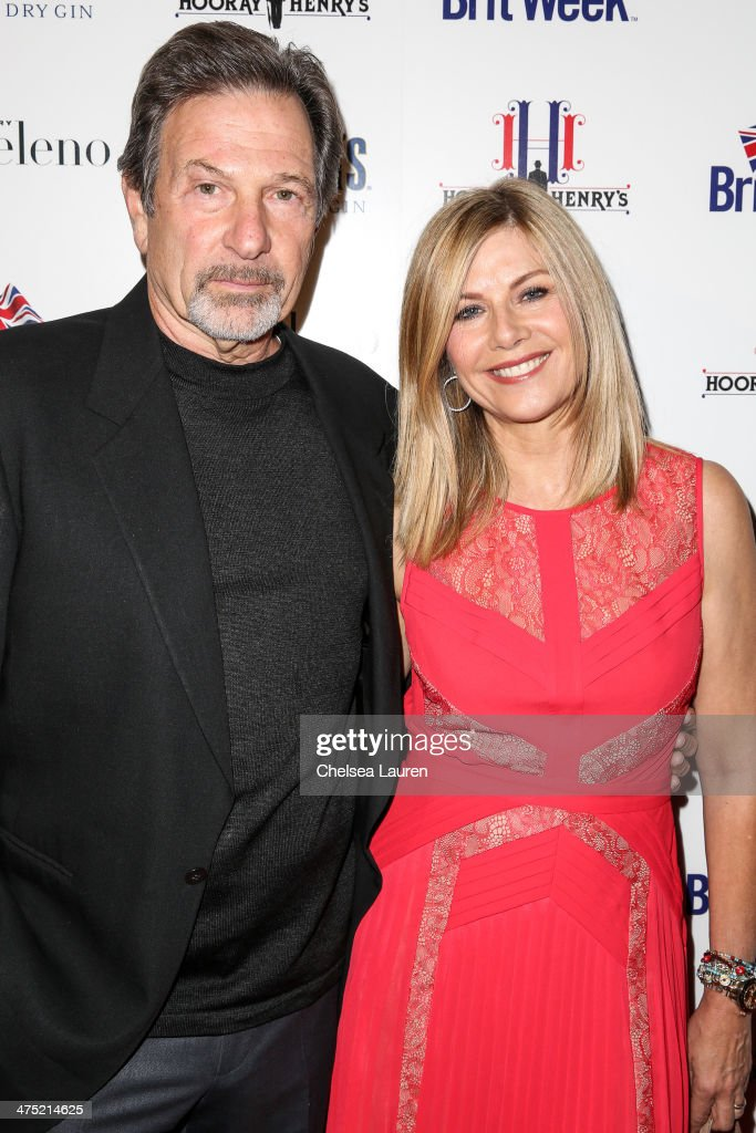 Actors <a gi-track='captionPersonalityLinkClicked' href=/galleries/search?phrase=Michael+Brandon+-+Actor&family=editorial&specificpeople=223866 ng-click='$event.stopPropagation()'>Michael Brandon</a> (L) and <a gi-track='captionPersonalityLinkClicked' href=/galleries/search?phrase=Glynis+Barber&family=editorial&specificpeople=217250 ng-click='$event.stopPropagation()'>Glynis Barber</a> arrive at the BritWeek Oscar party celebrating past, present and future Oscar winners at Hooray Henry's on February 26, 2014 in West Hollywood, California.