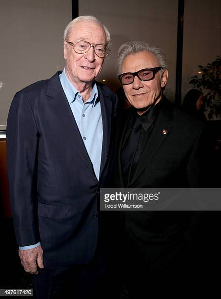 Actors Michael Caine and Harvey Keitel attend Fox Searchlight's 'Youth' movie premiere after party sponsored by Hennessy Paradis Imperial at the...