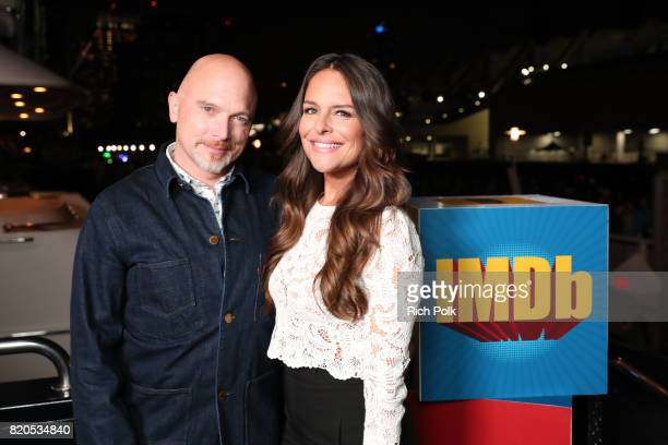 Actors Michael Cerveris and Yara Martinez attend the #IMDboat Party at San Diego ComicCon 2017 Presented By XFINITY on The IMDb Yacht on July 21 2017...