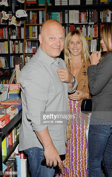 Actors Michael Chiklis and Michelle Moran attend the book signing for 'The Best Thing About My Ass is That It's Behind Me' by Lisa Ann Walter at Book...