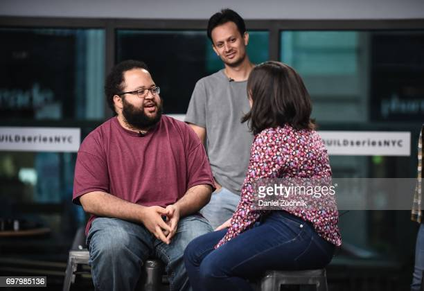 Actors Michael Cruz Kayne Abra Tabak and Zach Cherry members of the Upright Citizens Brigade Theatre visit Build to discuss 'The Del Close Marathon'...