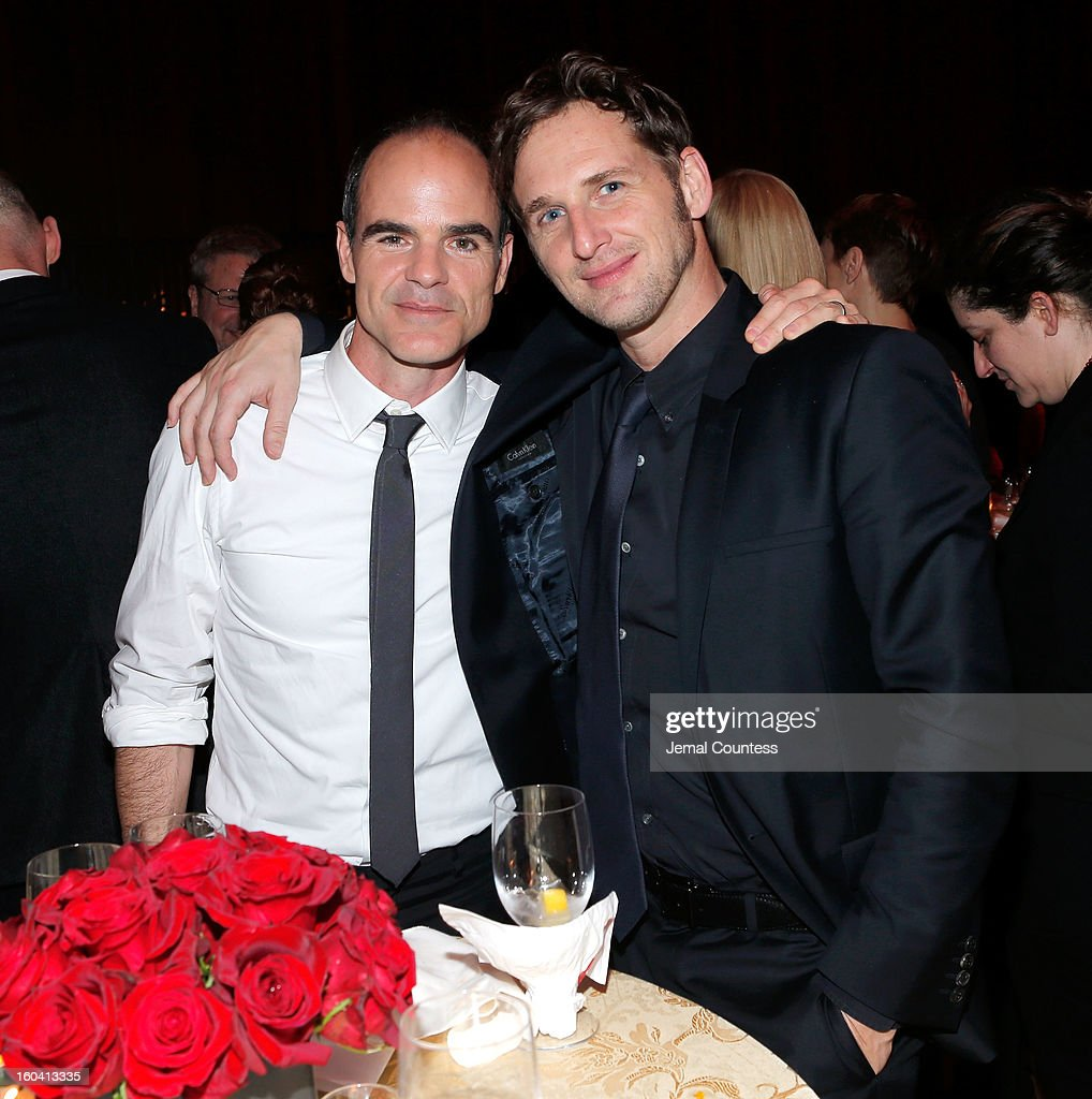 Actors Michael Kelly and <a gi-track='captionPersonalityLinkClicked' href=/galleries/search?phrase=Josh+Lucas&family=editorial&specificpeople=216514 ng-click='$event.stopPropagation()'>Josh Lucas</a> attend Netflix's 'House Of Cards' New York Premiere After Party at Alice Tully Hall on January 30, 2013 in New York City.