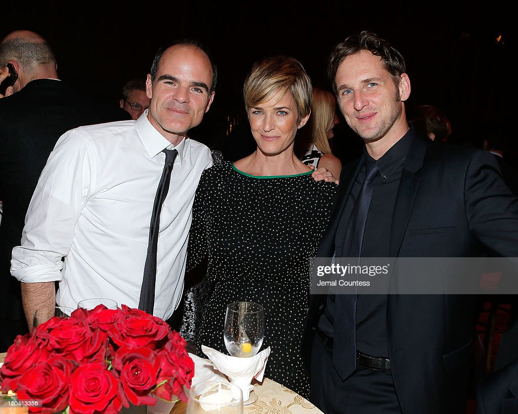 Actors Michael Kelly, Karyn Mendel and <a gi-track='captionPersonalityLinkClicked' href=/galleries/search?phrase=Josh+Lucas&family=editorial&specificpeople=216514 ng-click='$event.stopPropagation()'>Josh Lucas</a> attend Netflix's 'House Of Cards' New York Premiere After Party at Alice Tully Hall on January 30, 2013 in New York City.