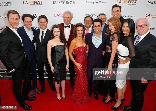 Actors Michael Lomenda Vincent Piazza Mike Doyle Freya Tingley producer/director Clint Eastwood actors Renee Marino John Lloyd Young Lou Volpe Erica...
