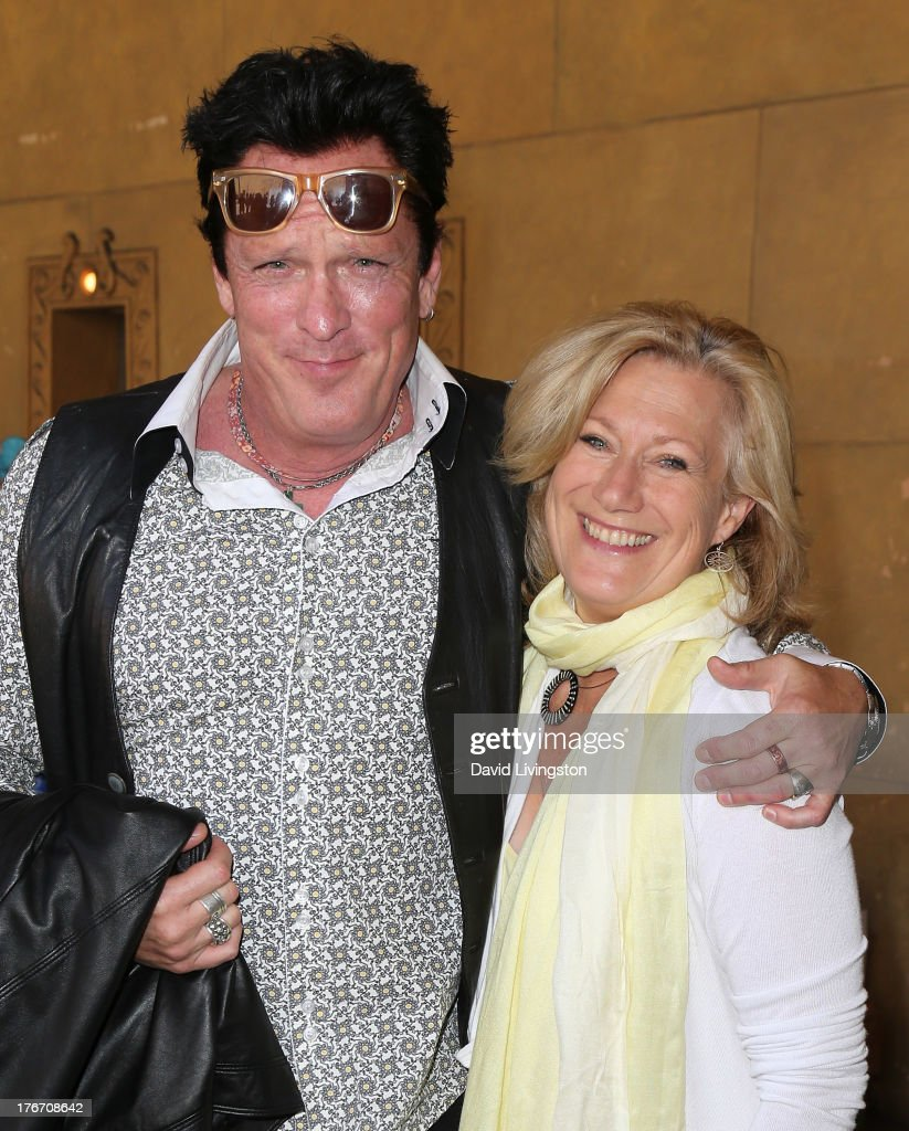 Actors <a gi-track='captionPersonalityLinkClicked' href=/galleries/search?phrase=Michael+Madsen&family=editorial&specificpeople=171692 ng-click='$event.stopPropagation()'>Michael Madsen</a> (L) and <a gi-track='captionPersonalityLinkClicked' href=/galleries/search?phrase=Jayne+Atkinson&family=editorial&specificpeople=2346441 ng-click='$event.stopPropagation()'>Jayne Atkinson</a> attend the 'Free Willy' 20th Anniversary Celebration at the Egyptian Theatre on August 17, 2013 in Hollywood, California.