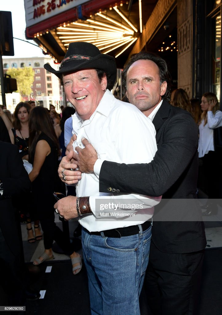 Actors Michael Madsen and Walton Goggins attend Sundance NEXT FEST After Dark at The Theater at The Ace Hotel on August 10, 2017 in Los Angeles, California.