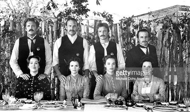 Actors Michael Madsen Catherine O'Hara Kevin Costner JoBeth Williams and others star in the film 'Wyatt Earp'