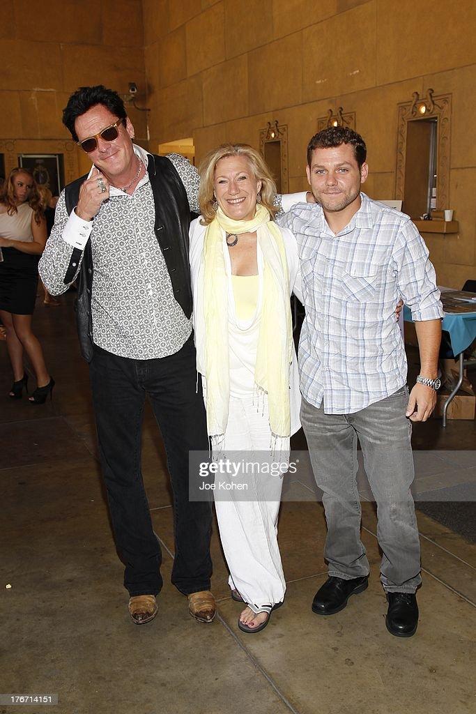 Actors Michael Madsen, Jason James Richter and Jayne ...