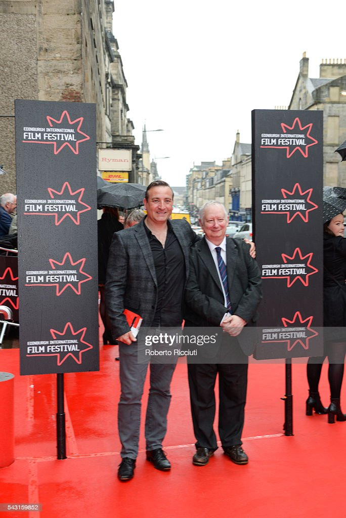 Actors Michael Nardone and Brian Pettifer attend the EIFF Closing Night Gala and World Premiere of 'Whisky Galore!' during the 70th Edinburgh International Film Festival at Festival Theatre on June 26, 2016 in Edinburgh, United Kingdom.