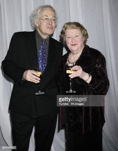 Actors Michael Pennington and Patricia Routledge arriving for the Hampstead Theatre Spring Gala at Lords Cricket Ground in London