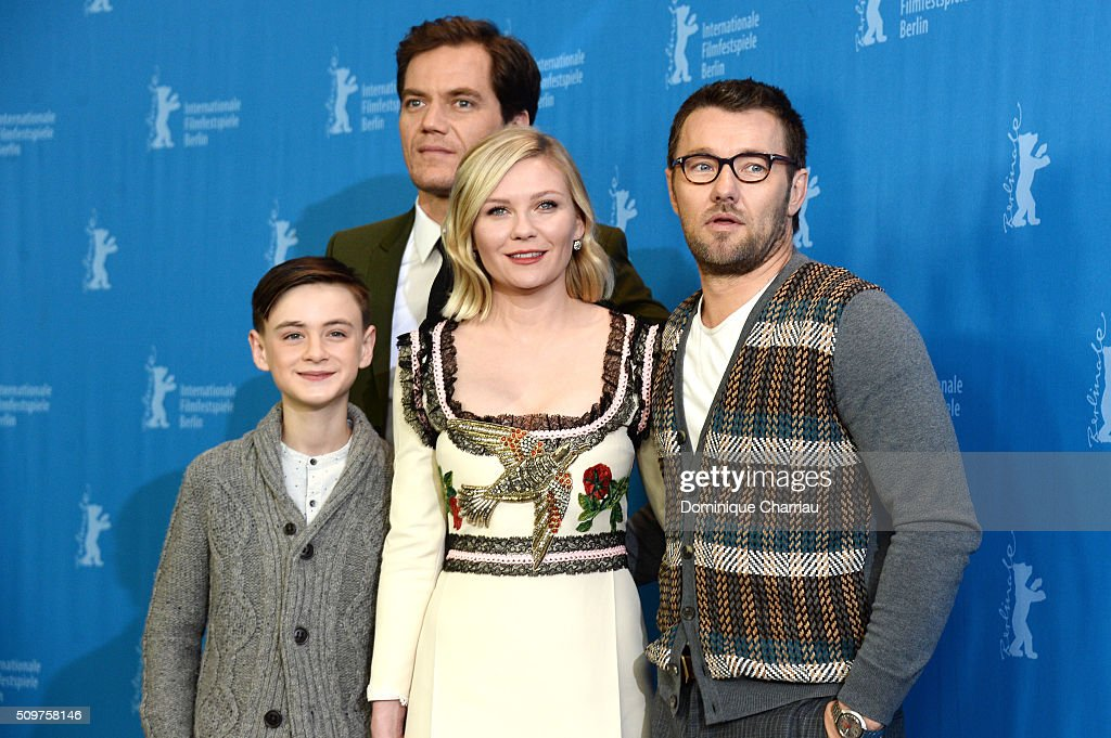 Actors <a gi-track='captionPersonalityLinkClicked' href=/galleries/search?phrase=Michael+Shannon&family=editorial&specificpeople=660513 ng-click='$event.stopPropagation()'>Michael Shannon</a>, <a gi-track='captionPersonalityLinkClicked' href=/galleries/search?phrase=Jaeden+Lieberher&family=editorial&specificpeople=11117189 ng-click='$event.stopPropagation()'>Jaeden Lieberher</a>, <a gi-track='captionPersonalityLinkClicked' href=/galleries/search?phrase=Kirsten+Dunst&family=editorial&specificpeople=171590 ng-click='$event.stopPropagation()'>Kirsten Dunst</a> and <a gi-track='captionPersonalityLinkClicked' href=/galleries/search?phrase=Joel+Edgerton&family=editorial&specificpeople=211291 ng-click='$event.stopPropagation()'>Joel Edgerton</a> attend the 'Midnight Special' photo call during the 66th Berlinale International Film Festival Berlin at Grand Hyatt Hotel on February 12, 2016 in Berlin, Germany.