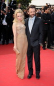 Actors Michael Sheen and Rachel McAdams attend the 'Sleeping Beauty' Premiere during the 64th Annual Cannes Film Festival at the Palais des Festivals...