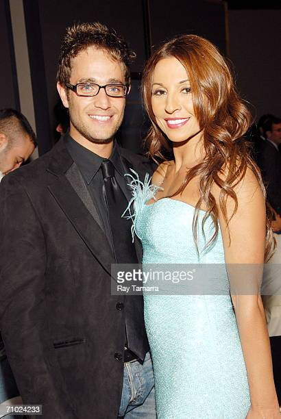 Actors Michel Brown and Amparo Grisales attends Telemundo's Upfront 2006 at Jazz At Lincoln Center on May 16 2006 in New York City