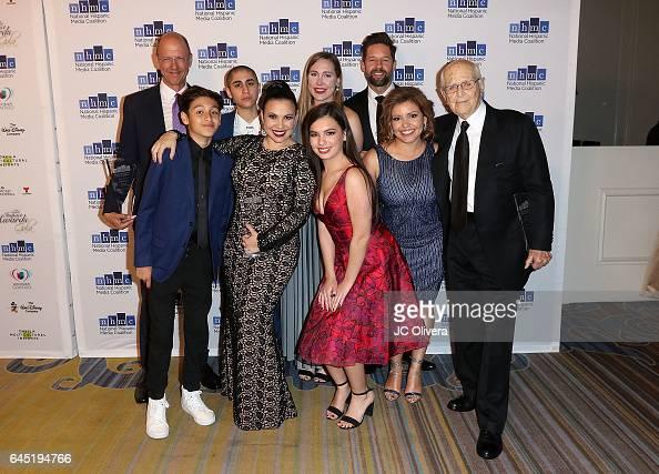 Actors Mike Royce Marcel Ruiz Michelle Badillo Gloria Calderon Kellett Caroline Laich Isabella Gomez Todd Grinnell Justina Machado and writer Norman...