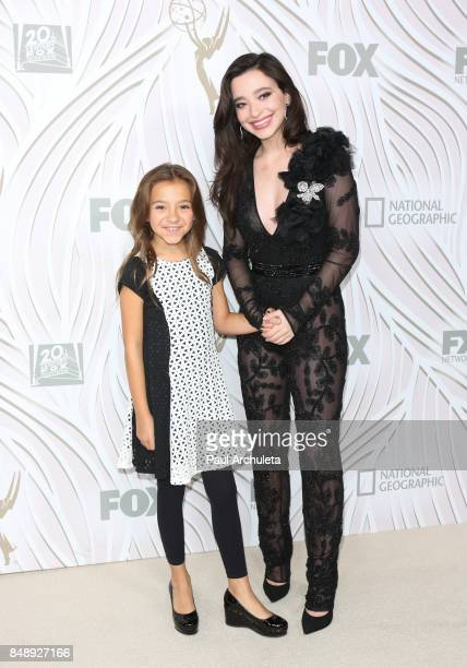 Actors Mikey Madison and Olivia Edward attend the FOX Broadcasting Company Twentieth Century Fox Television FX and National Geographic 69th primetime...