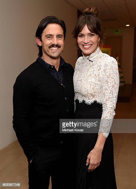 Actors Milo Ventimiglia and Mandy Moore arrive at The Paley Center for MediaÕs 10th Annual PaleyFest Fall TV Previews honoring NBCÕs This Is Us at...