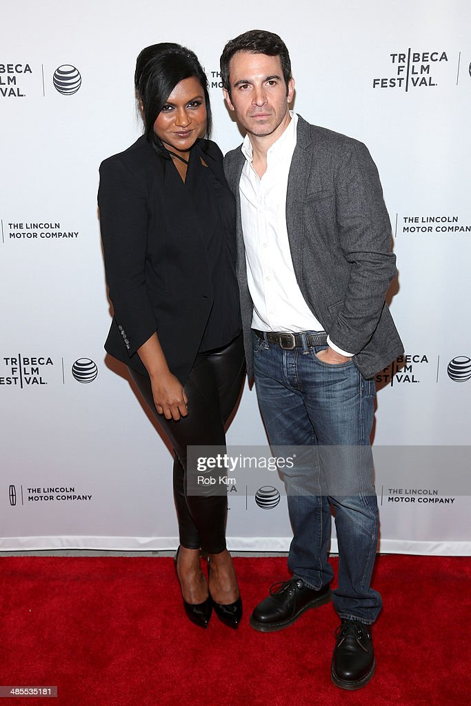 Actors <a gi-track='captionPersonalityLinkClicked' href=/galleries/search?phrase=Mindy+Kaling&family=editorial&specificpeople=743884 ng-click='$event.stopPropagation()'>Mindy Kaling</a> (L) and <a gi-track='captionPersonalityLinkClicked' href=/galleries/search?phrase=Chris+Messina&family=editorial&specificpeople=541094 ng-click='$event.stopPropagation()'>Chris Messina</a> attend the 'Alex of Venice' Premiere during the 2014 Tribeca Film Festival at SVA Theater on April 18, 2014 in New York City.