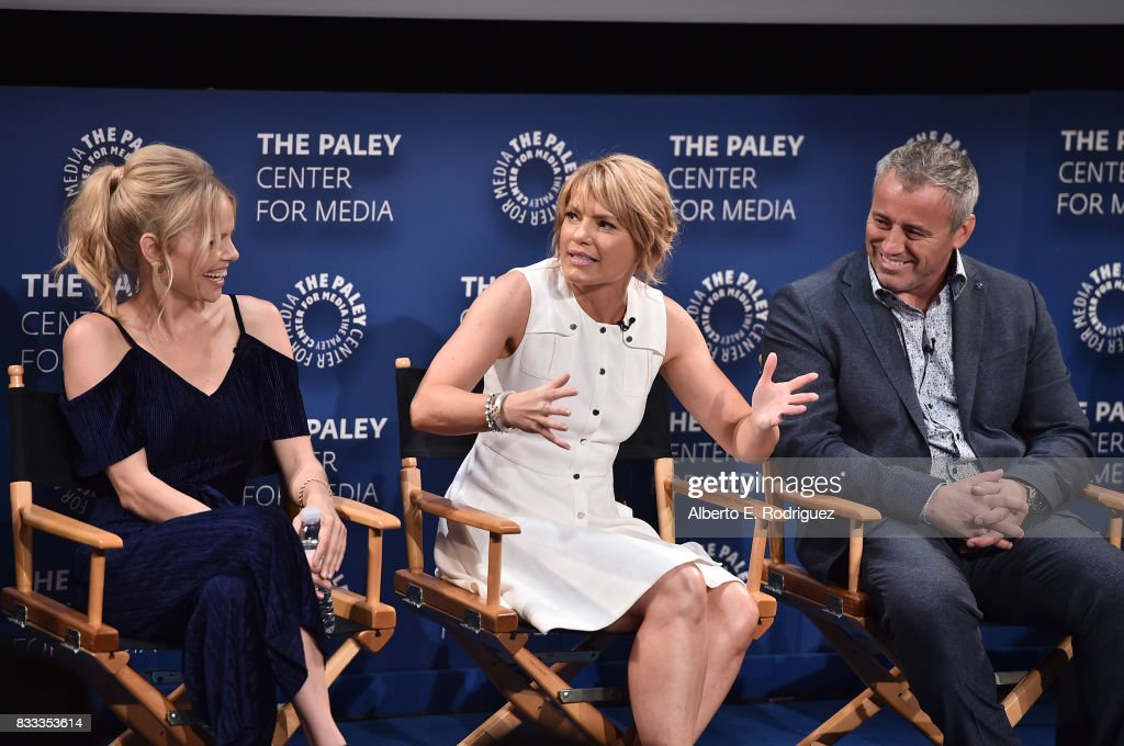 Actors Mircea Monroe, Kathleen Rose Perkins and Matt LeBlanc attend the 2017 PaleyLive LA Summer Season Premiere Screening And Conversation For Showtime's 'Episodes' at The Paley Center for Media on August 16, 2017 in Beverly Hills, California.