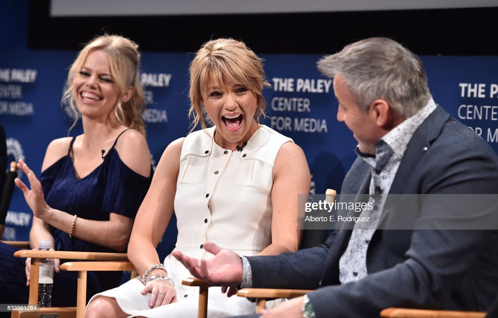 Actors Mircea Monroe, Kathleen Rose Perkins and Matt LeBlanc attends the 2017 PaleyLive LA Summer Season Premiere Screening And Conversation For Showtime's 'Episodes' at The Paley Center for Media on August 16, 2017 in Beverly Hills, California.