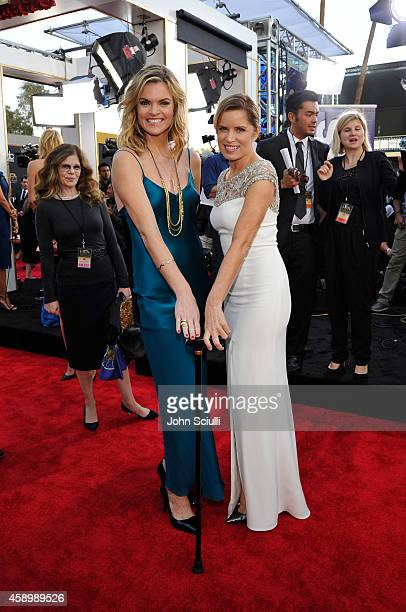 Actors Missi Pyle and Kim Dickens attend the 18th Annual Hollywood Film Awards at The Palladium on November 14 2014 in Hollywood California