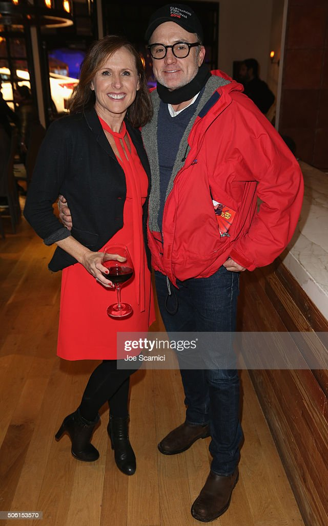 Actors Molly Shannon and Bradley Whitford attend the 'Other People' Dinner at The Acura Studio at Sundance Film Festival 2016 on January 21 2016 in...