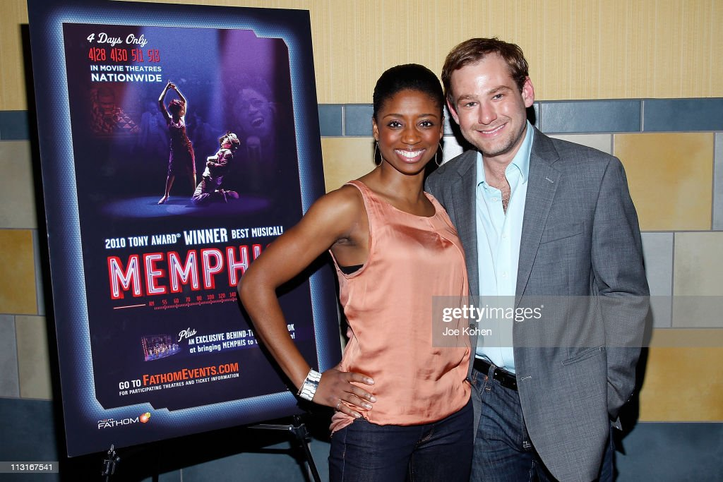 """New York Premiere of """"Memphis"""" In-Theater Event"""