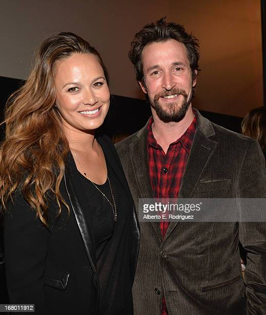 Actors Moon Bloodgood and Noah Wyle attend Entertainment Weekly's CapeTown Film Festival presented by The American Cinematheque and sponsored by...