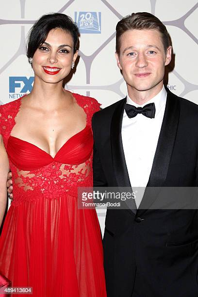 Actors Morena Baccarin and Ben McKenzie attend the 67th Primetime Emmy Awards Fox after party on September 20 2015 in Los Angeles California