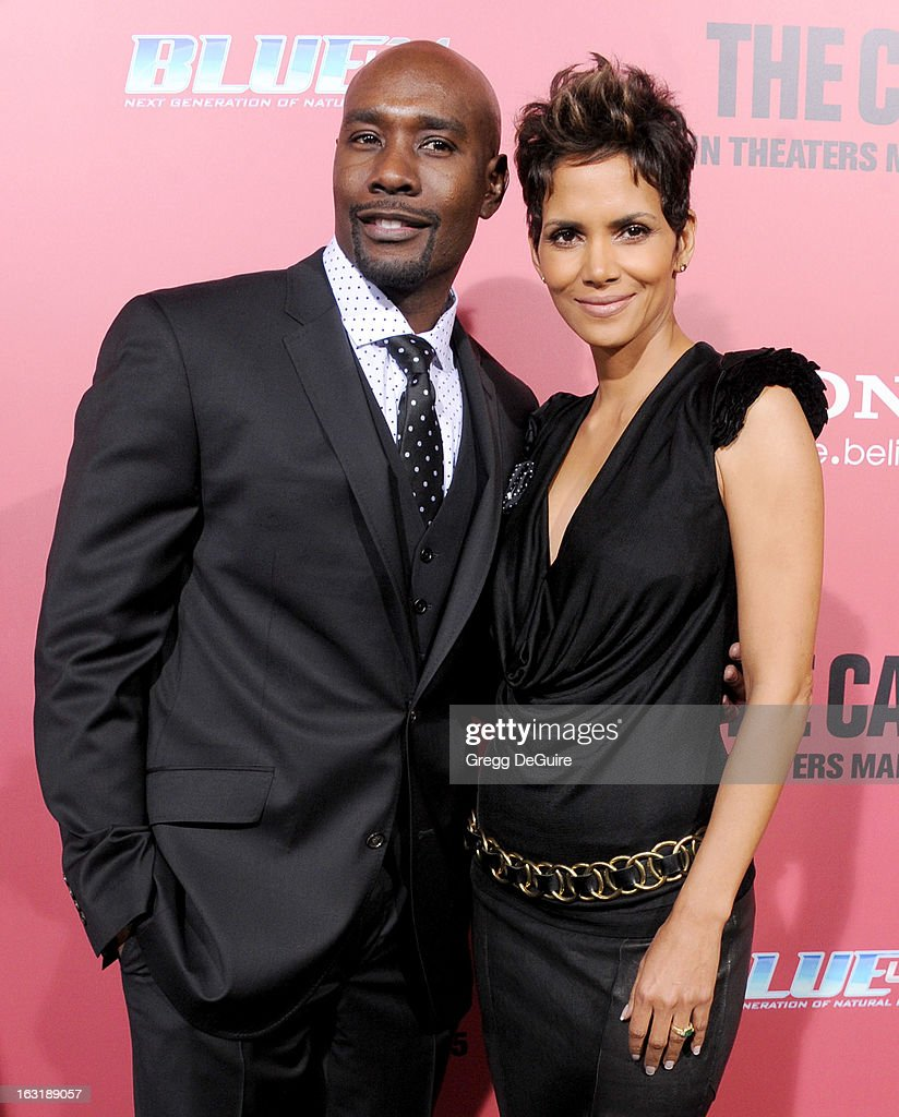 Actors Morris Chestnut and Halle Berry arrive at the Los Angeles premiere of 'The Call' at ArcLight Hollywood on March 5, 2013 in Hollywood, California.