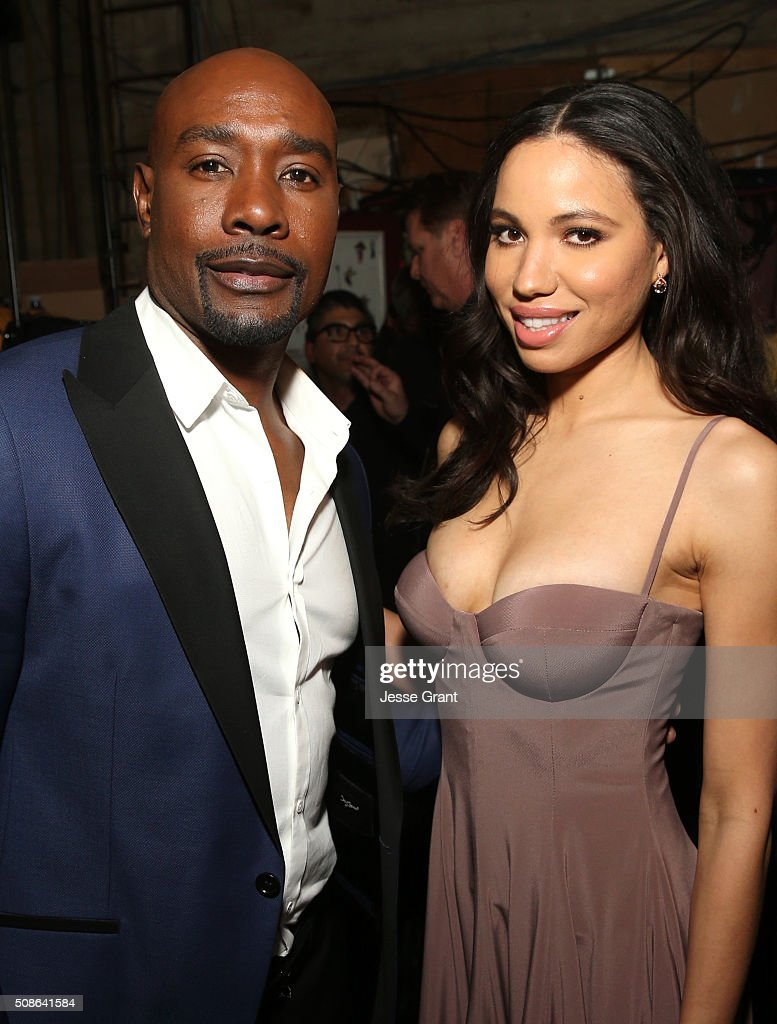 Actors <a gi-track='captionPersonalityLinkClicked' href=/galleries/search?phrase=Morris+Chestnut&family=editorial&specificpeople=707699 ng-click='$event.stopPropagation()'>Morris Chestnut</a> (L) and <a gi-track='captionPersonalityLinkClicked' href=/galleries/search?phrase=Jurnee+Smollett&family=editorial&specificpeople=614220 ng-click='$event.stopPropagation()'>Jurnee Smollett</a>-Bell attend the 47th NAACP Image Awards presented by TV One at Pasadena Civic Auditorium on February 5, 2016 in Pasadena, California.