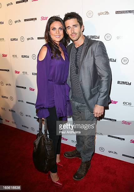 Actors Nadia Bjorlin and Brandon Beemer attends Star Magazine's 'Hollywood Rocks' party at Playhouse Hollywood on April 4 2013 in Los Angeles...