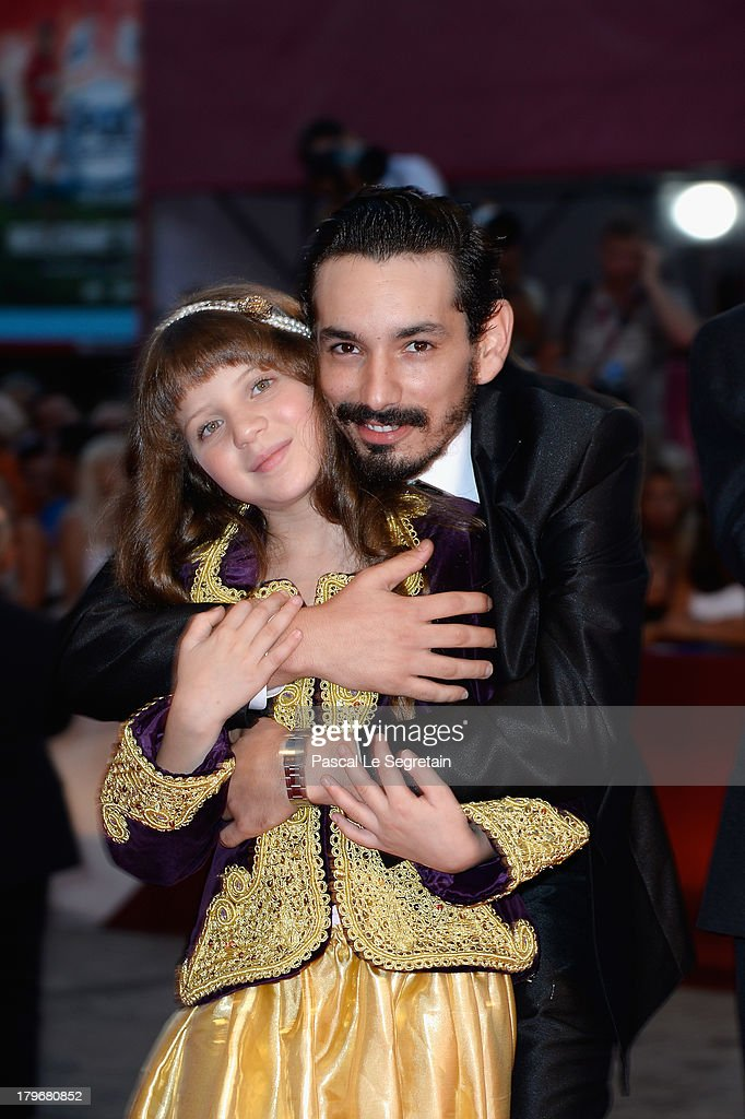 Actors Nadjib Oulebsir and Myriam Ait El Hadj attend 'Les Terrasses' Premiere during the 70th Venice International Film Festival at Palazzo del Cinema on September 6, 2013 in Venice, Italy.