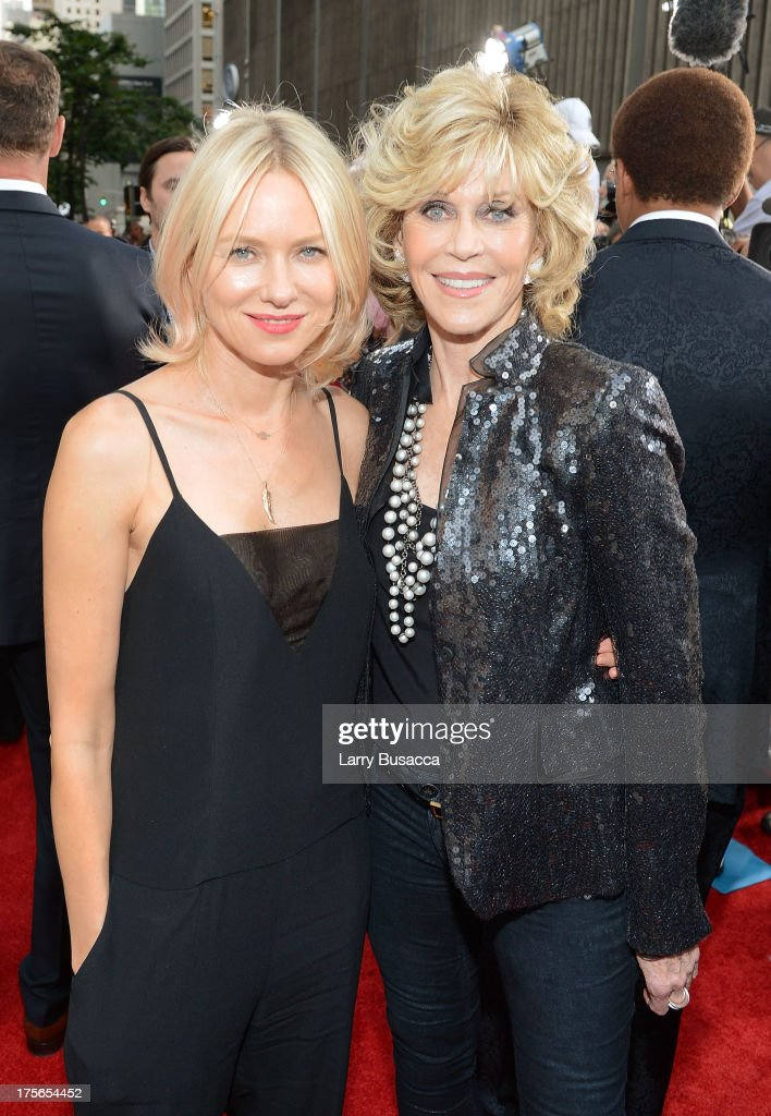 Actors <a gi-track='captionPersonalityLinkClicked' href=/galleries/search?phrase=Naomi+Watts&family=editorial&specificpeople=171723 ng-click='$event.stopPropagation()'>Naomi Watts</a> (L) and <a gi-track='captionPersonalityLinkClicked' href=/galleries/search?phrase=Jane+Fonda&family=editorial&specificpeople=202174 ng-click='$event.stopPropagation()'>Jane Fonda</a> attend Lee Daniels' 'The Butler' New York premiere, hosted by TWC, DeLeon Tequila and Samsung Galaxy on August 5, 2013 in New York City.