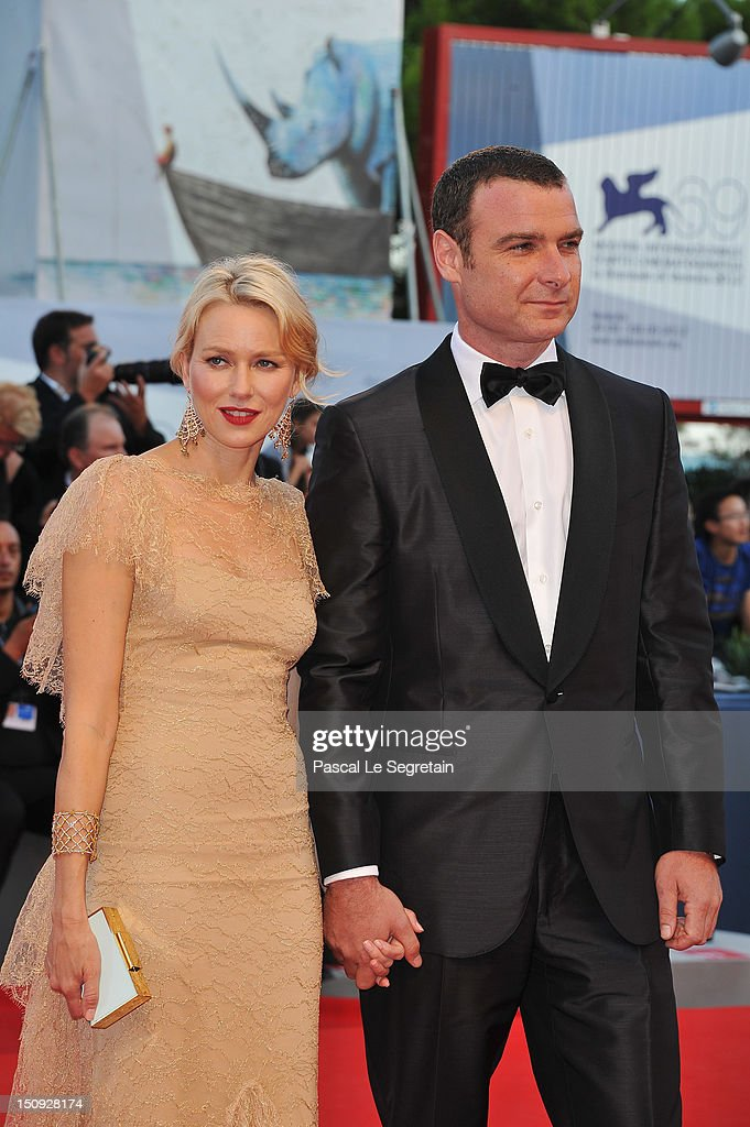 Actors Naomi Watts and Liev Schreiber attend 'The Reluctant Fundamentalist' Premiere And Opening Ceremony during the 69th Venice International Film Festival at Palazzo del Cinema on August 29, 2012 in Venice, Italy.